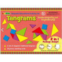 InaKids - Tangrams Magnetic Educational Activity Set