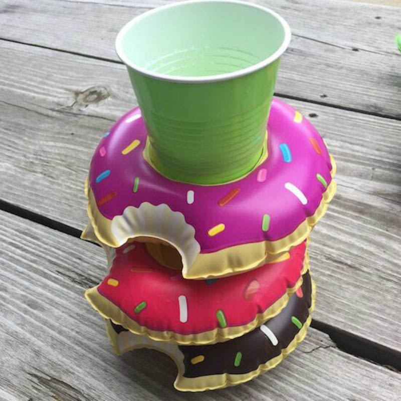 drink holders - donuts