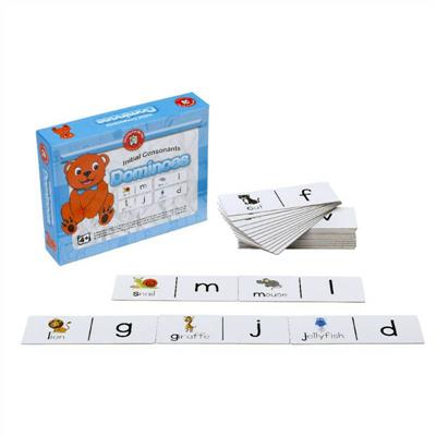 Initial Consonants Dominoes Game