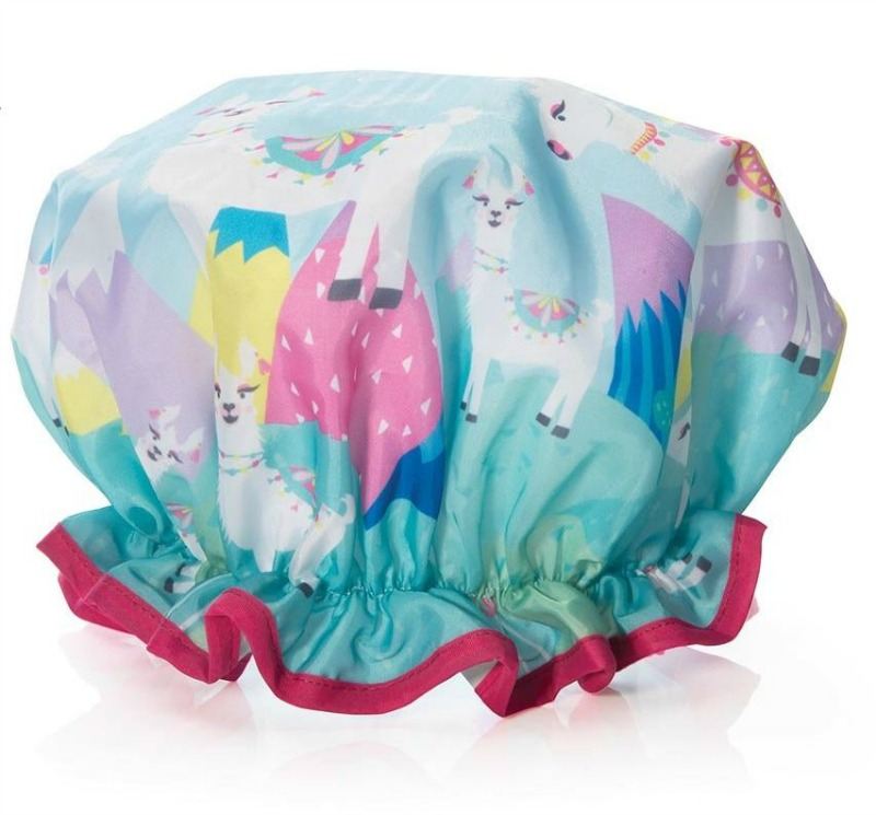 IS Llama Shower Cap