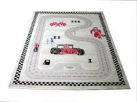 IVI 3D Play Rug-Racer Cream-Medium 100x150