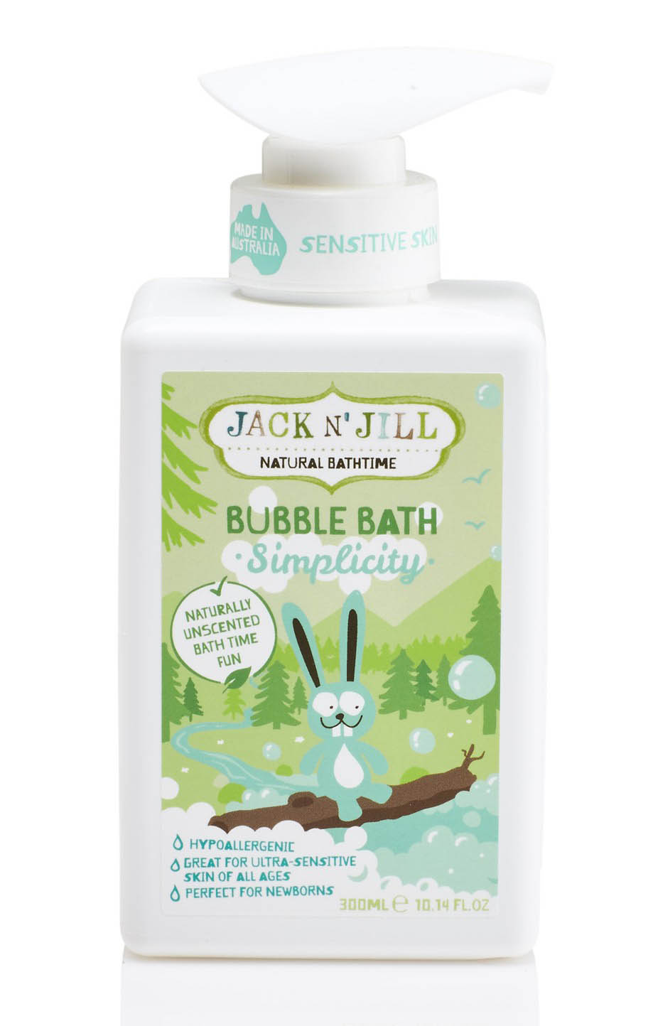 Jack N' Jill Bubble Bath 300ml Simplicity