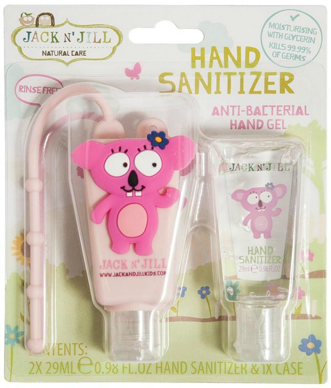 Jack N Jill Koala Hand Sanitiser 2pk and Holder