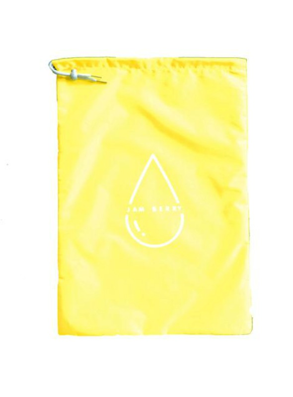 Jam Berry 100% Waterproof drawstring Wet Stuff Bag Sunny Yellow