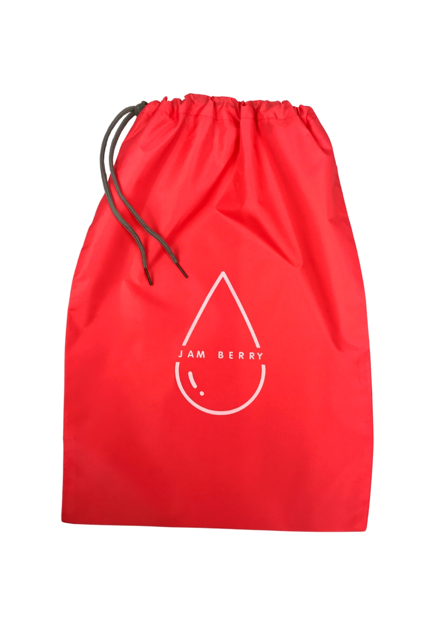 Jam Berry 100% Waterproof drawstring Wet Stuff Bag Red