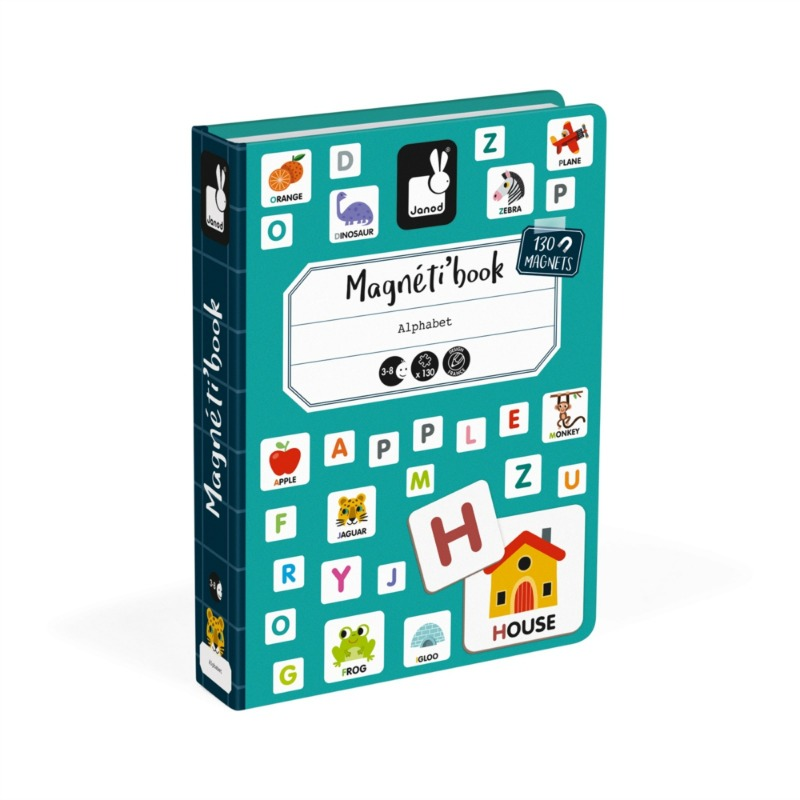 Janod English Alphabet Magnetibook