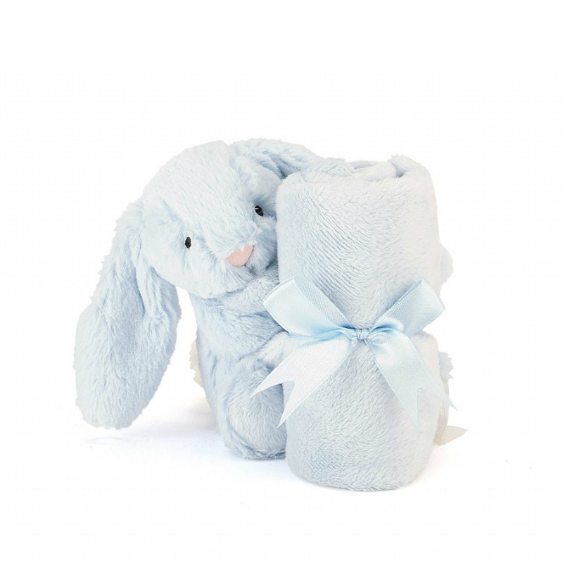 Jellycat Bashful Blue Bunny Soother