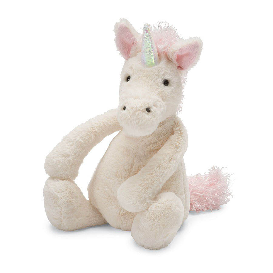 Jellycat Soft Toys- Bashful Unicorn-medium