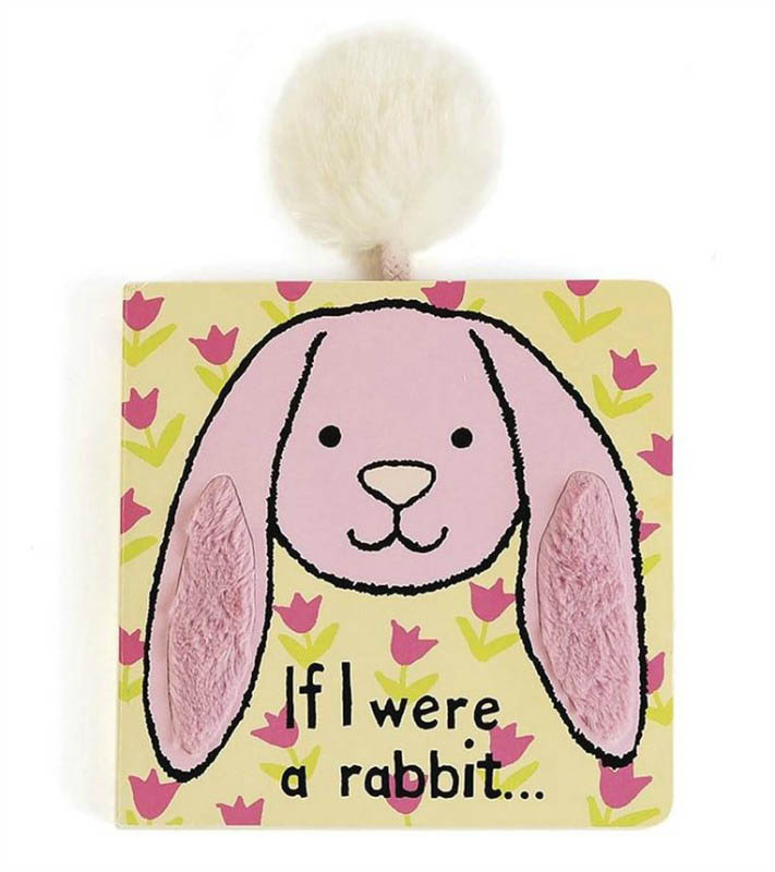 Jellycat - If I Were A Rabbit textured book