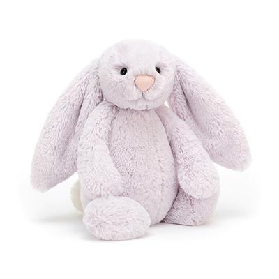 Jellycat Medium Bashful Lavender Bunny