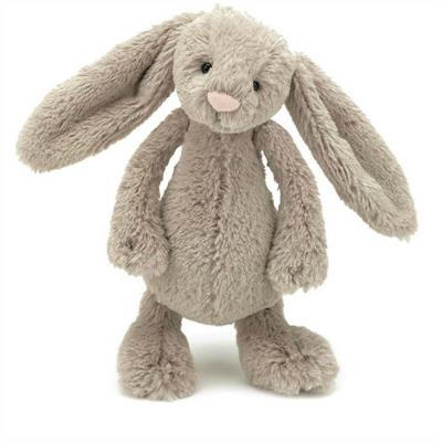 Jellycat Plush Toys- Bashful Beige Bunny - SMALL