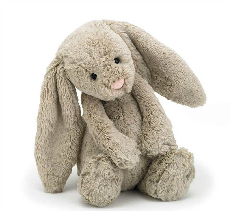 Jellycat Soft Toys - Bashful Beige Bunny - Medium