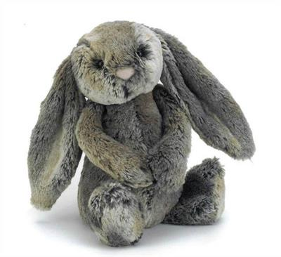 Jellycat Soft Toys - Bashful Cottontail Bunny - Small