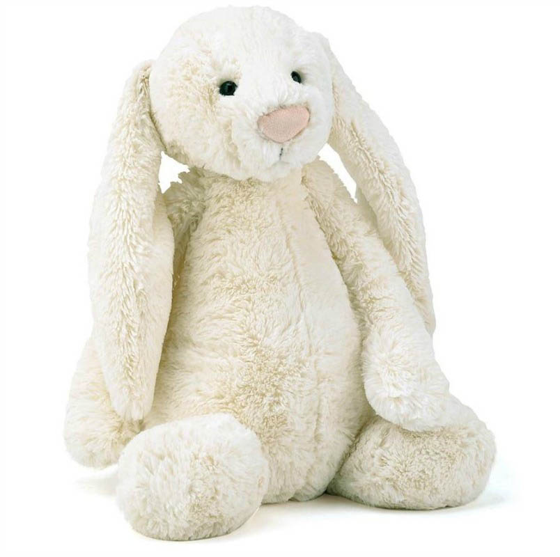 Jellycat Soft Toys - Bashful Cream Bunny - Large