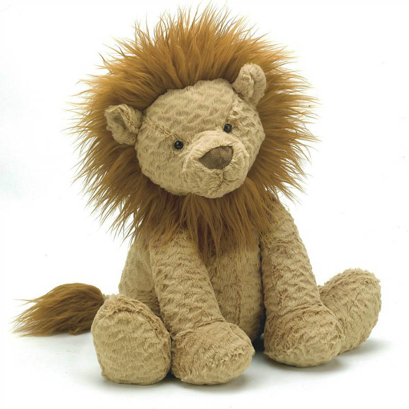 Jellycat Soft Toys-Fuddlewuddle Lion-Medium