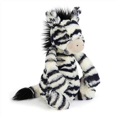 Jellycat Soft Toys-Zebra-Medium