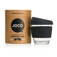 JOCO Reusable Glass Cup 236ml Black (packaging may vary)