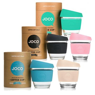 JOCO Reusable Glass Cup 236ml