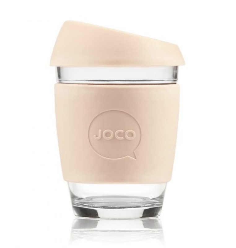 JOCO Reusable Glass Cup Sandstone 354ml