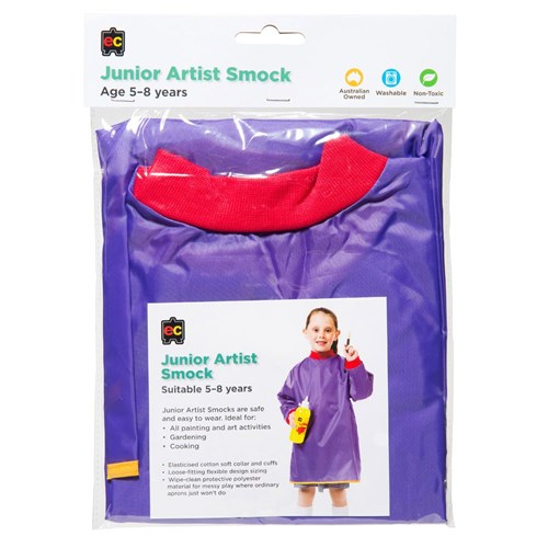 Junior Artist Smock Purple Age 5-8