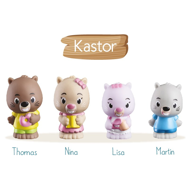 Magic Tree House Family Character - Kastor Family