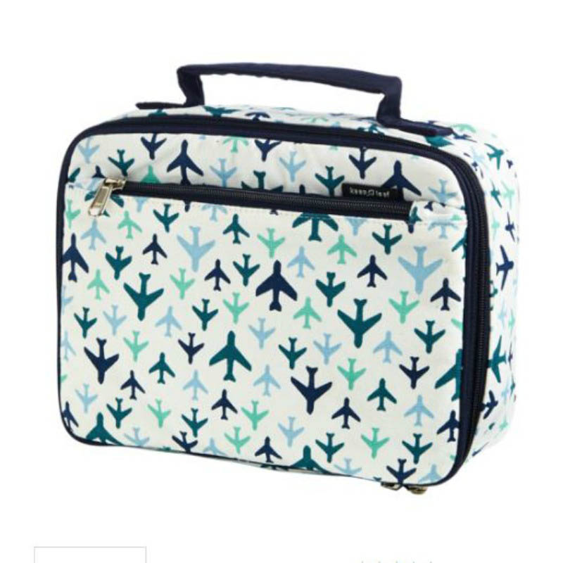 Keep Leaf Organic Insulated Lunch Box-Planes
