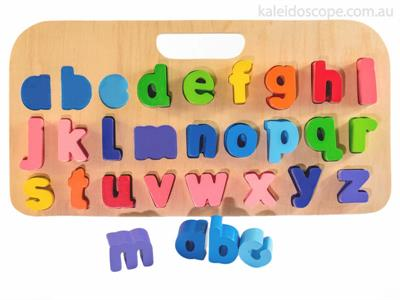 Kiddie Connect Carry Around Lowercase abc Puzzle