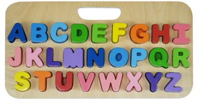 Kiddie Connect Carry Around Uppercase ABC Puzzle