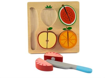 Kiddie Connect Fruit Slicing Puzzle