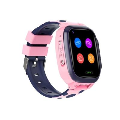 Kidocall - 4G Smartwatch, Phone & GPS tracking for Kids Pink