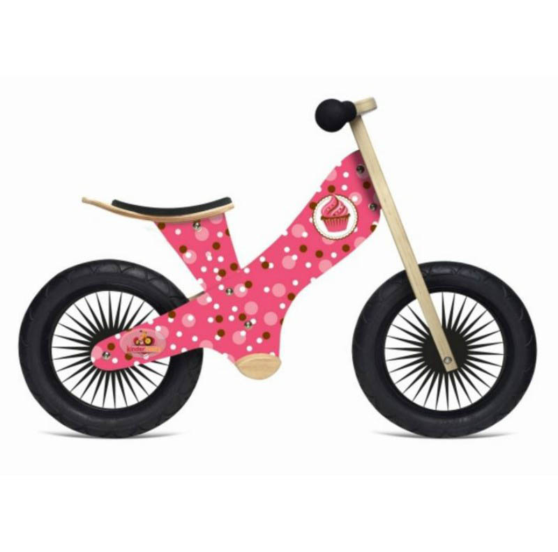 Kinderfeets Balance Bike Retro Cupcake