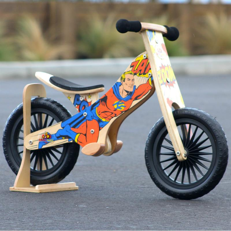Superhero Balance Bike Kinderfeets