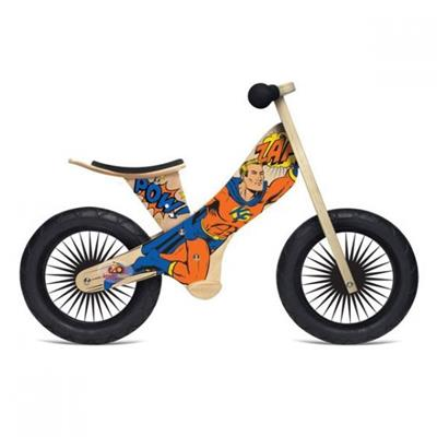 Kinderfeets Balance Bike Retro Superhero
