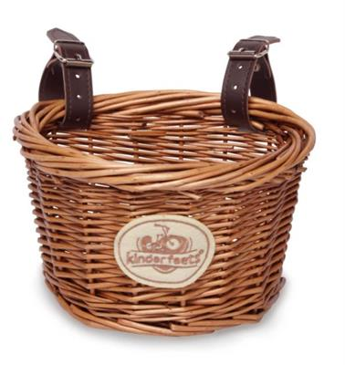 Kinderfeets Balance Bike Wicker Basket