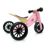 Kinderfeets Tiny Tot 2 in 1 Balance Bike - Pink