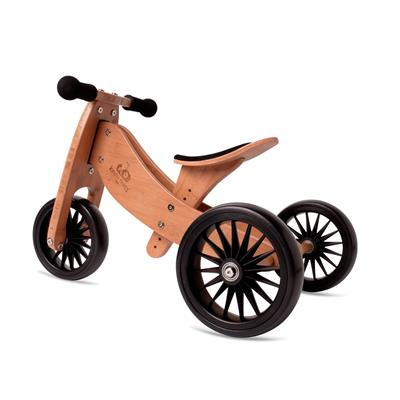 Kinderfeets Tiny Tot Plus Balance Bike Bamboo