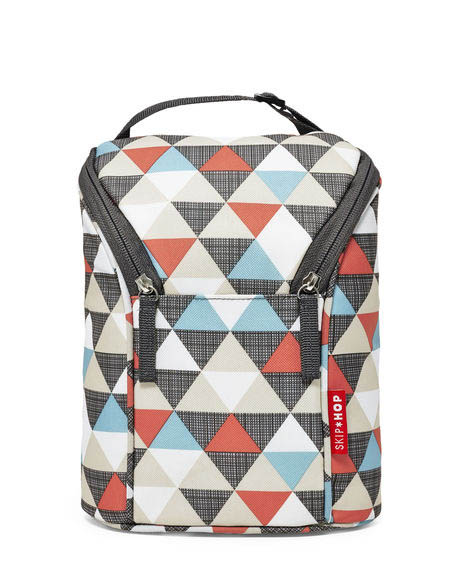 Skip Hop-Insulated Bags-Grab and Go Double Bottle Bag{Triangle}