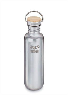Klean Kanteen Brushed Stainless Steel Bottle Reflect 800ml