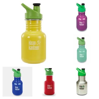Klean Kanteen Classic Sports Cap Drink Bottle 12oz/355ml
