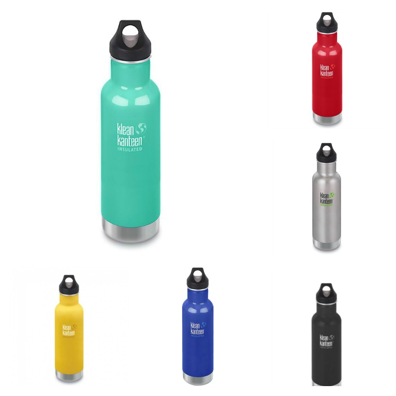 Klean Kanteen DOUBLE INSULATED Classic Loop Cap Bottle 20oz/592ml