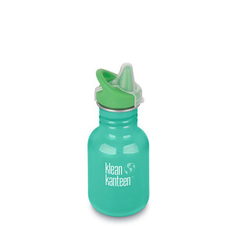 Klean Kanteen NEW Classic Sippy Cap Drink Bottle 355 ml Sea Crest