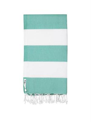 Knotty Turkish Towel Capri CARIBBEAN