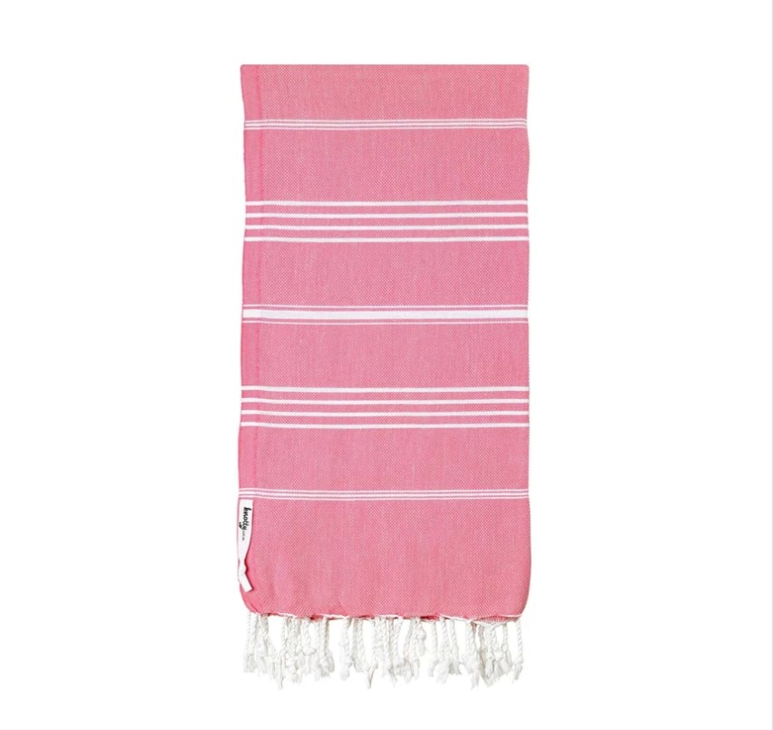 Knotty Original Turkish Towel - SHELL PINK