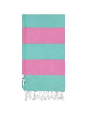 Knotty Turkish Towel  Superbright - Circus
