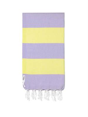 Knotty Turkish Towel  Superbright - Confetti (lilac)