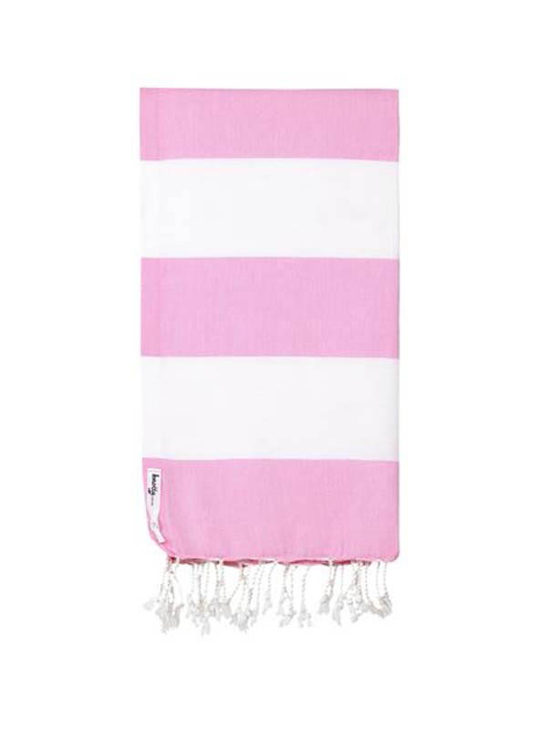 Knotty Turkish Towel - Capri BLOSSOM