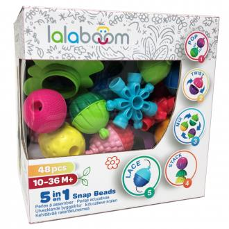 Lalaboom Beads and Accessories 48 PCS
