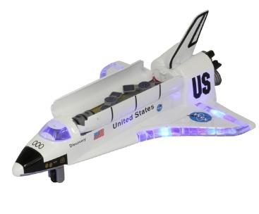 Large Space Shuttle with Light and Sound