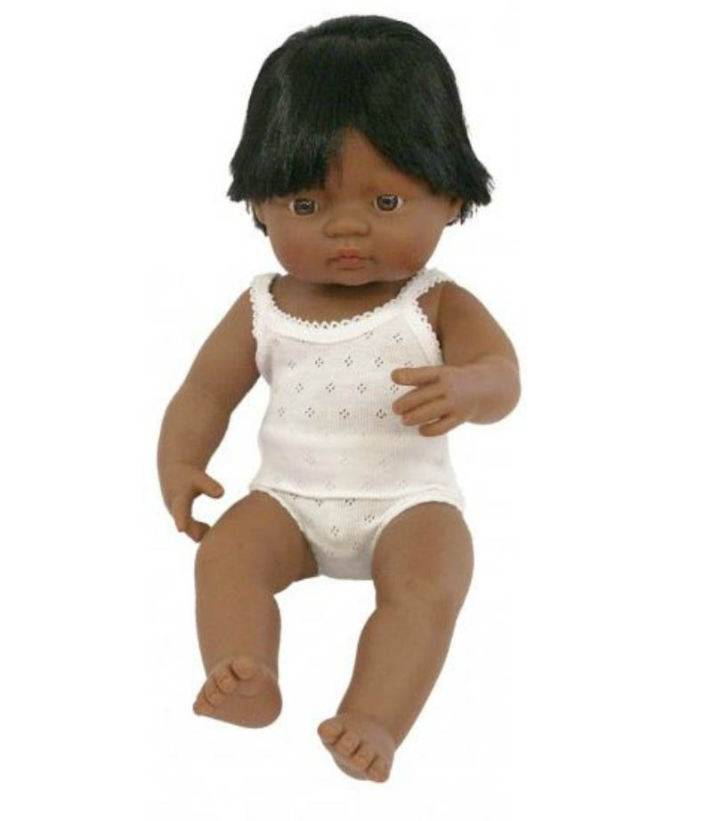 Miniland - Latin American (Hispanic) Baby Boy Doll