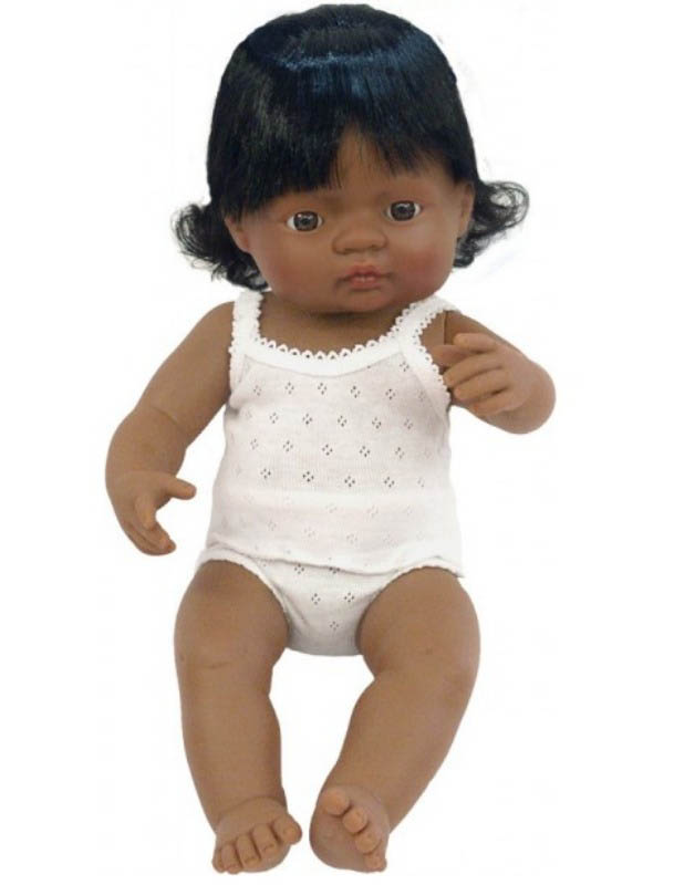Miniland - Latin American Hispanic Baby Girl Doll